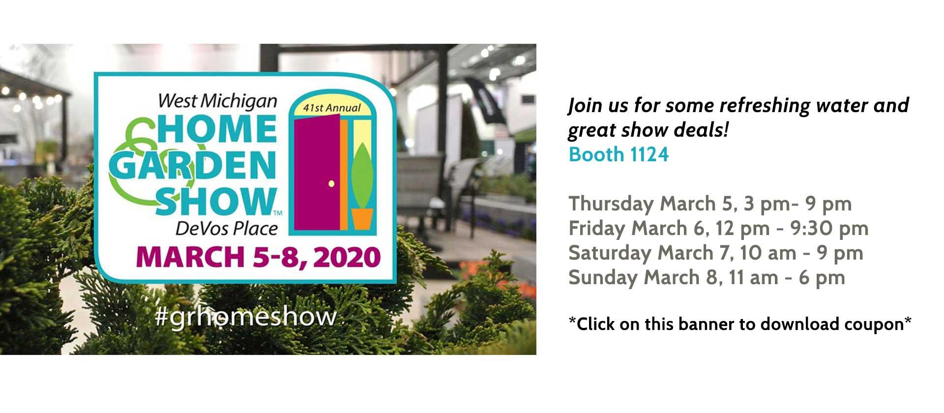 Home and Garden show coupon