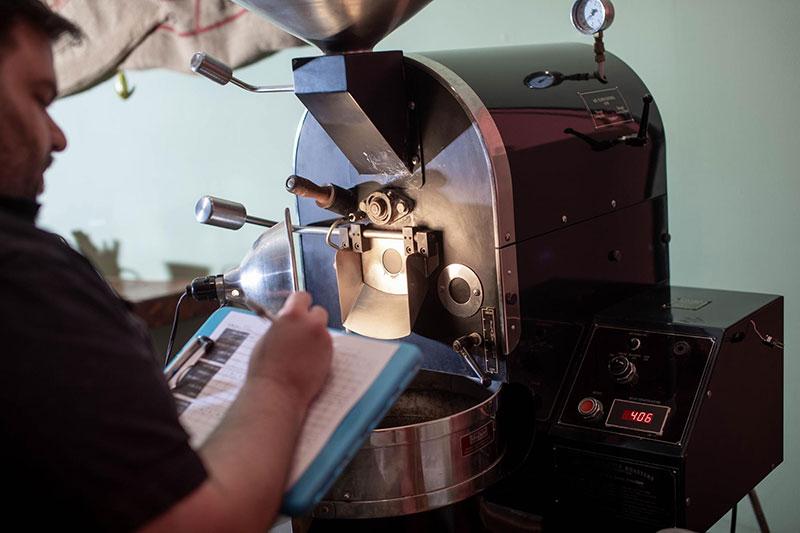 Gordon Water coffee roasting